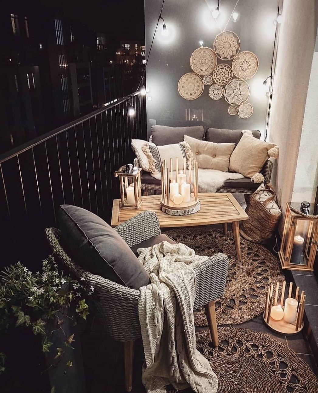 The Best Decorated Small Outdoor Balconies on Pinterest - living  - Apartment Room Ideas Pinterest