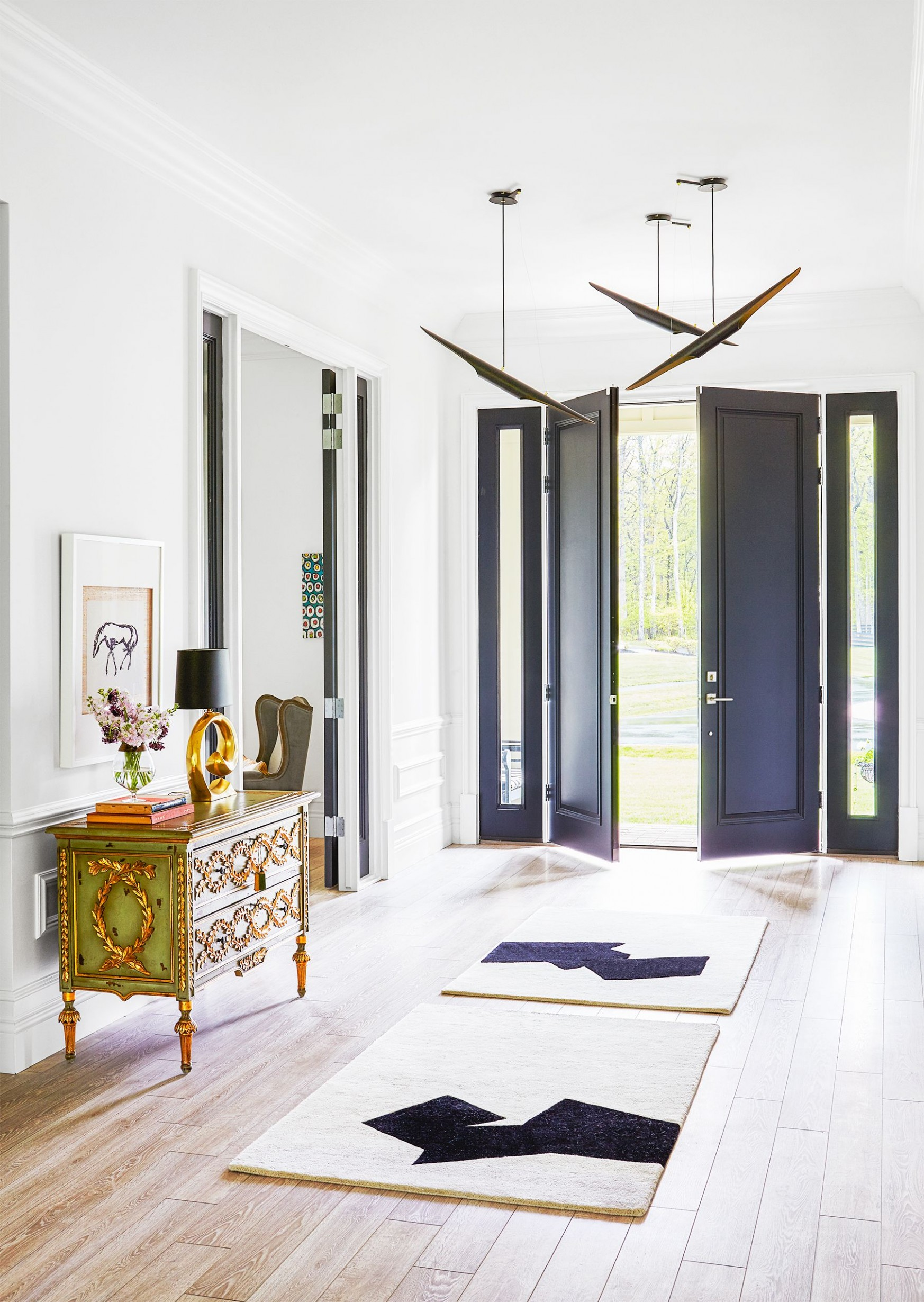The Best Entryway Ideas of 10 - Beautiful Foyer Designs - Apartment Entrance Design Ideas