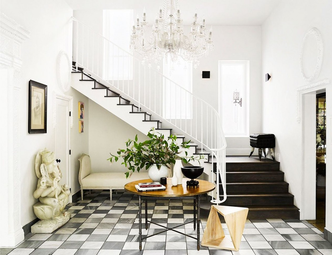 The Best Entryway Ideas of 12 - Beautiful Foyer Designs - Dining Room Entryway Ideas