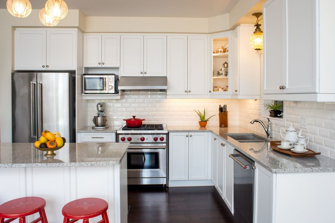 The Best Primer and Paint to Transform Kitchen Cabinets - This Old  - Red Bank Kitchen Cabinets