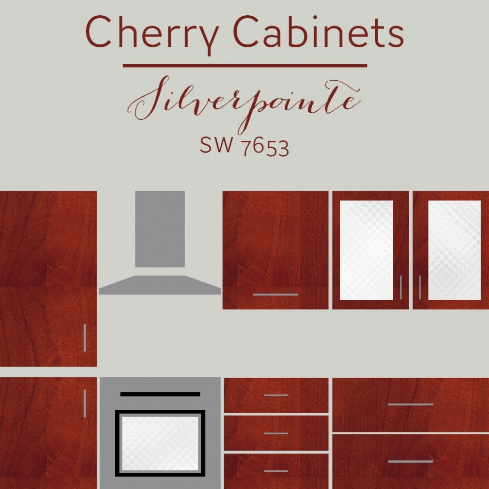 The Best Wall Colors To Update Stained Cabinets  Rugh Design - Kitchen Wall Paint Colors With Cherry Cabinets