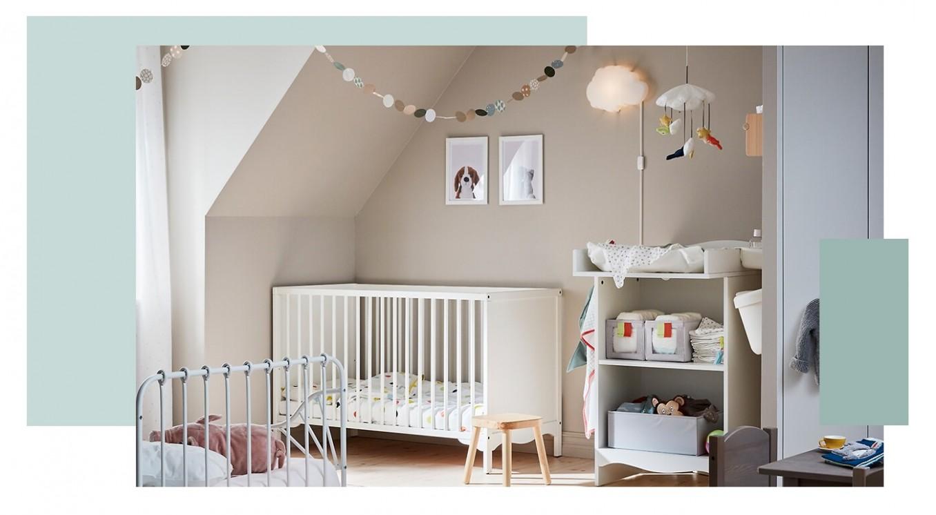 The cutest baby room ideas - IKEA - Baby Room Ikea