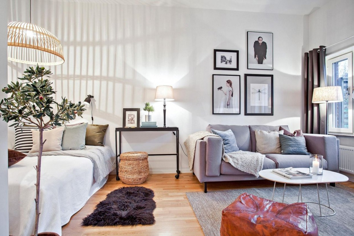 The LuxPad provides 8 expert studio flat ideas to help you  - Apartment Design Help