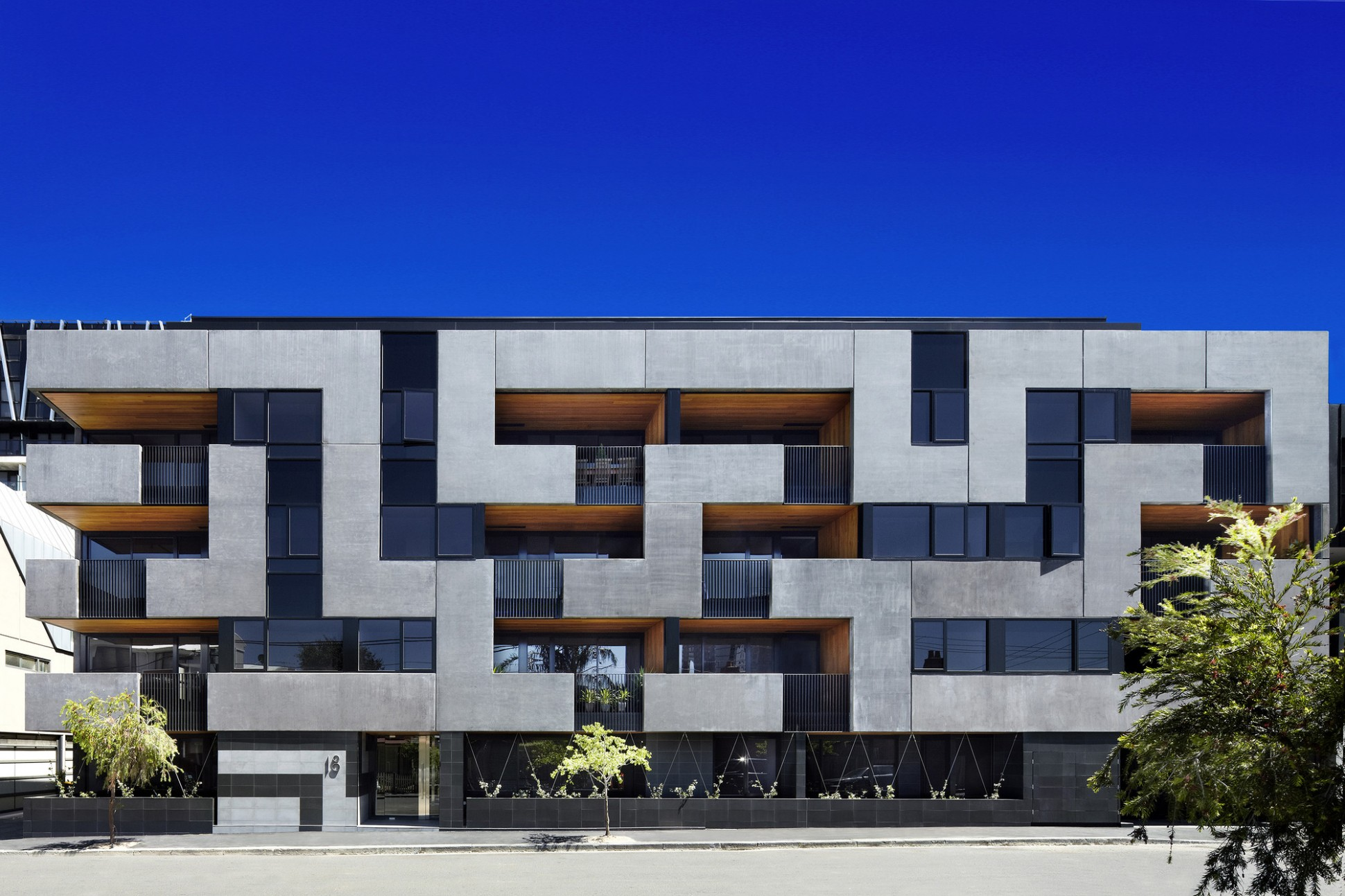 The Maze Apartments / CHT Architects  ArchDaily - Apartment Design Archdaily