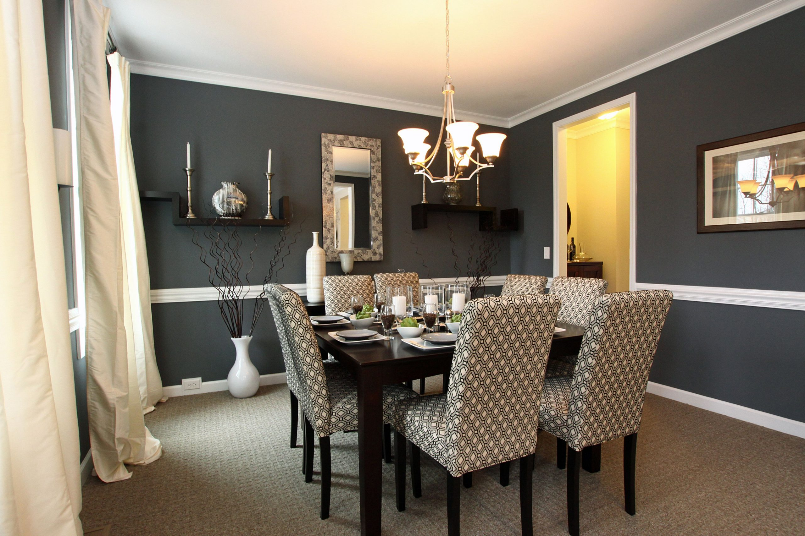 the most popular color for dining room table and chairs  Download  - Dining Room Ideas Colours