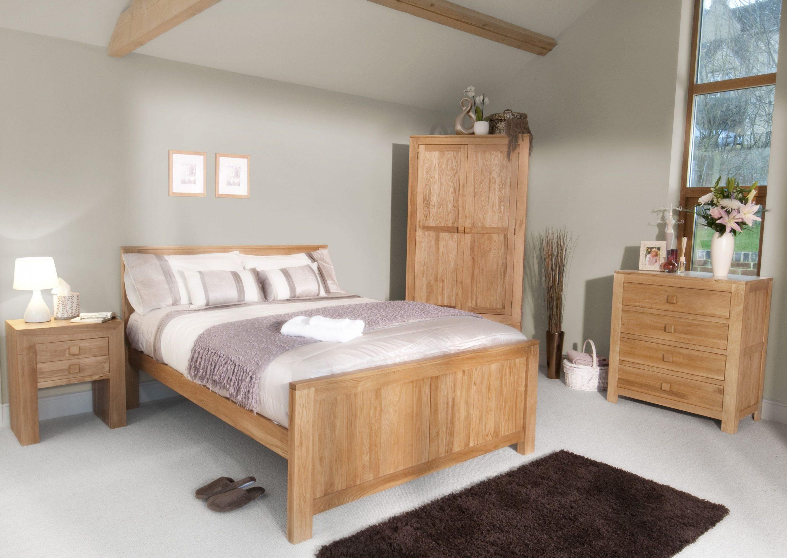 The Oakdale Range - Natural Solid Oak Furniture  Oak bedroom  - Bedroom Ideas Oak Furniture