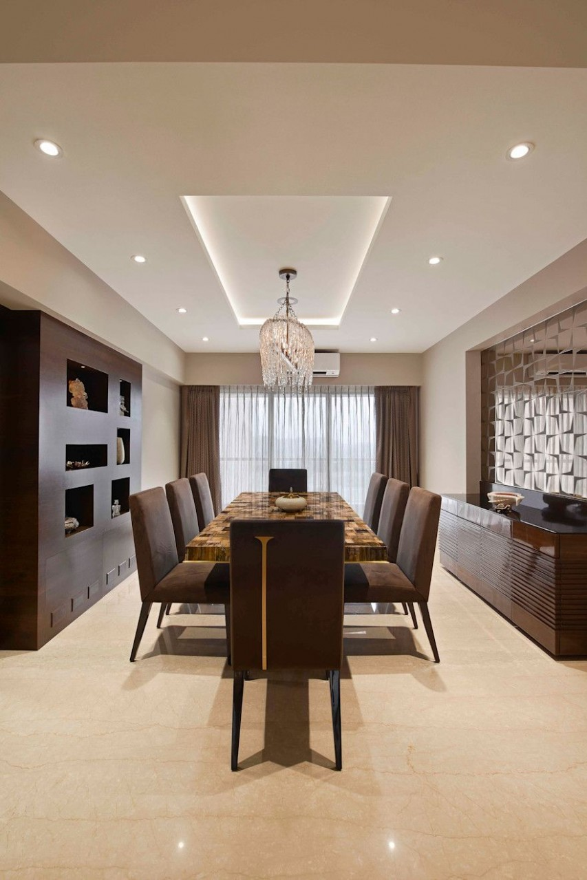 The Warm Bliss by Milind Pai - Architects & Interior Designers  - Dining Room Ideas Homify