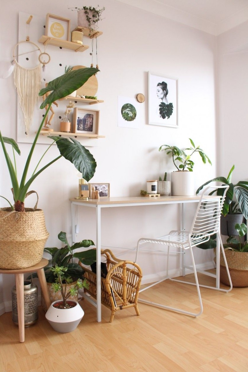thediydecorator home office Kmart styling indoor plants  Home  - Home Office Ideas Kmart