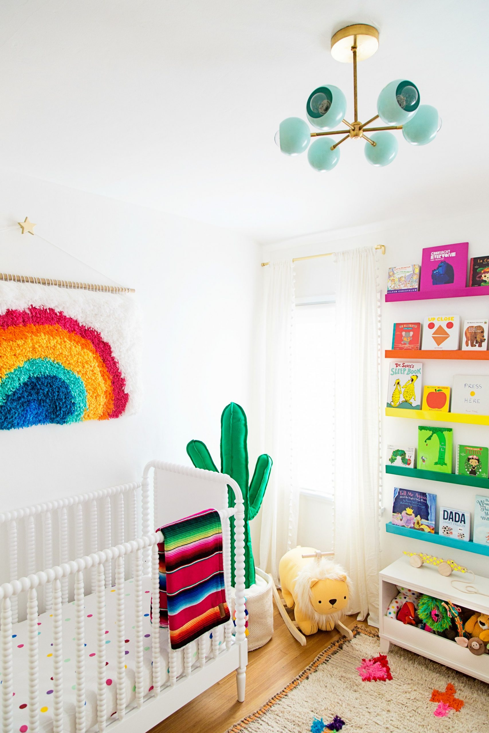 These Nurseries are All Rainbows and Sunshine - Project Nursery - Baby Room Rainbow