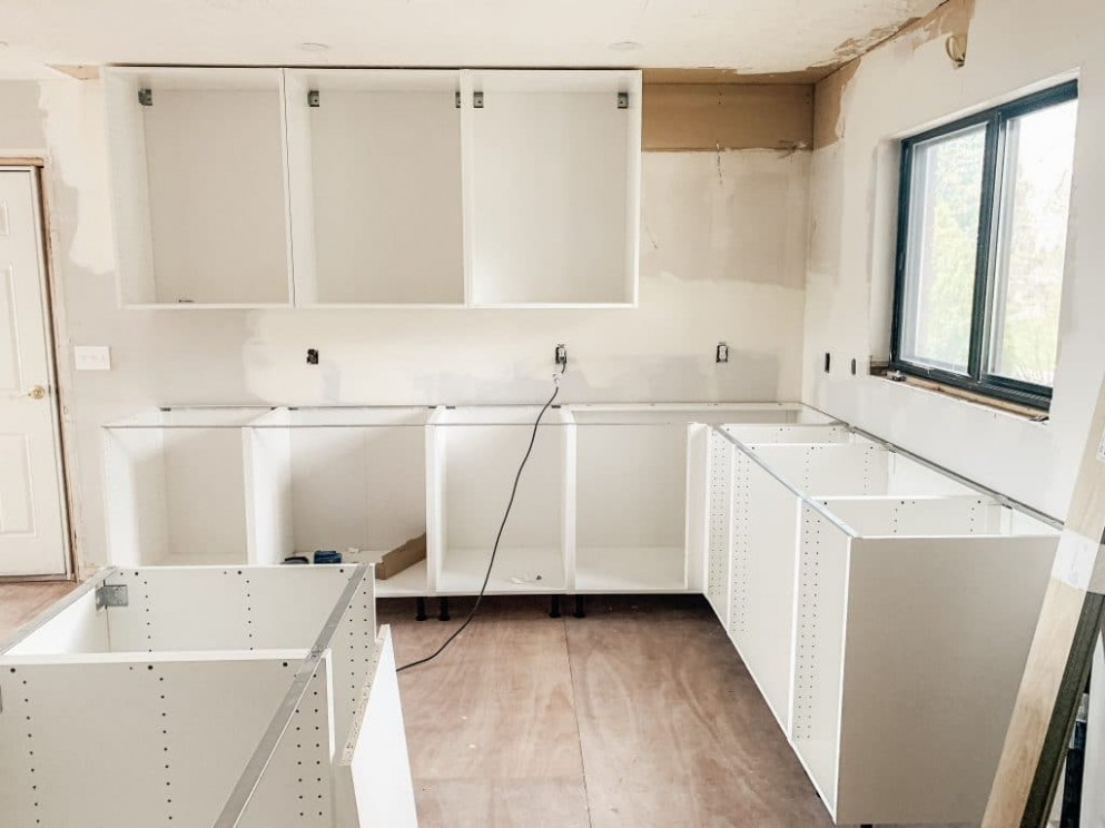 Things to Know When Planning Your IKEA Kitchen - Chris Loves Julia - Kitchen Cabinets Not Level