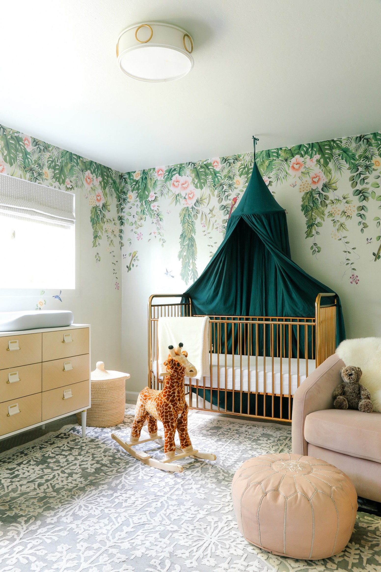 """This Dreamy Nursery Design Was Inspired By """"Father of the Bride II  - Baby Room And Office"""