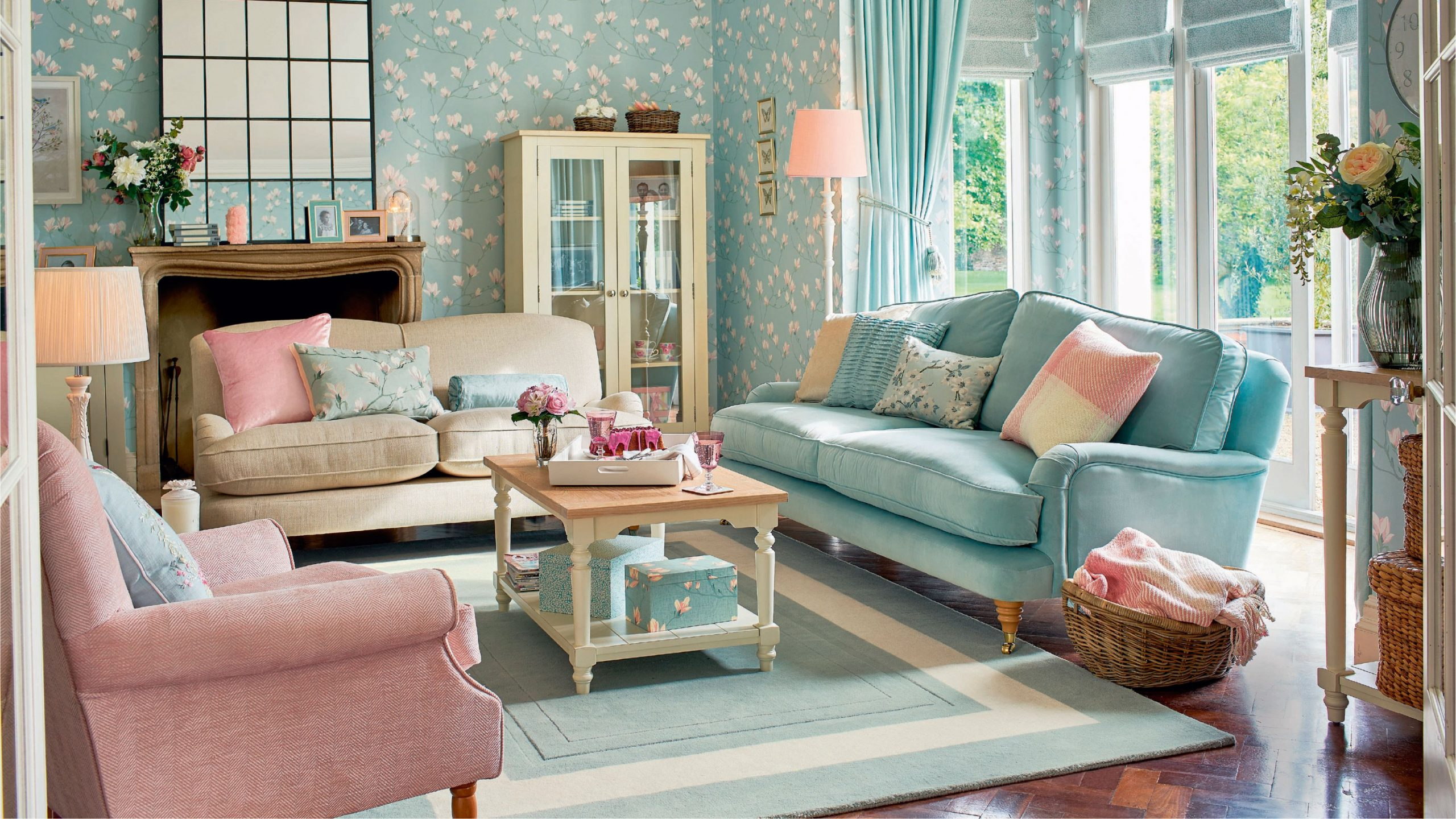 This gorgeous Laura Ashley lighting has 9% off right now  Real Homes - Dining Room Ideas Laura Ashley