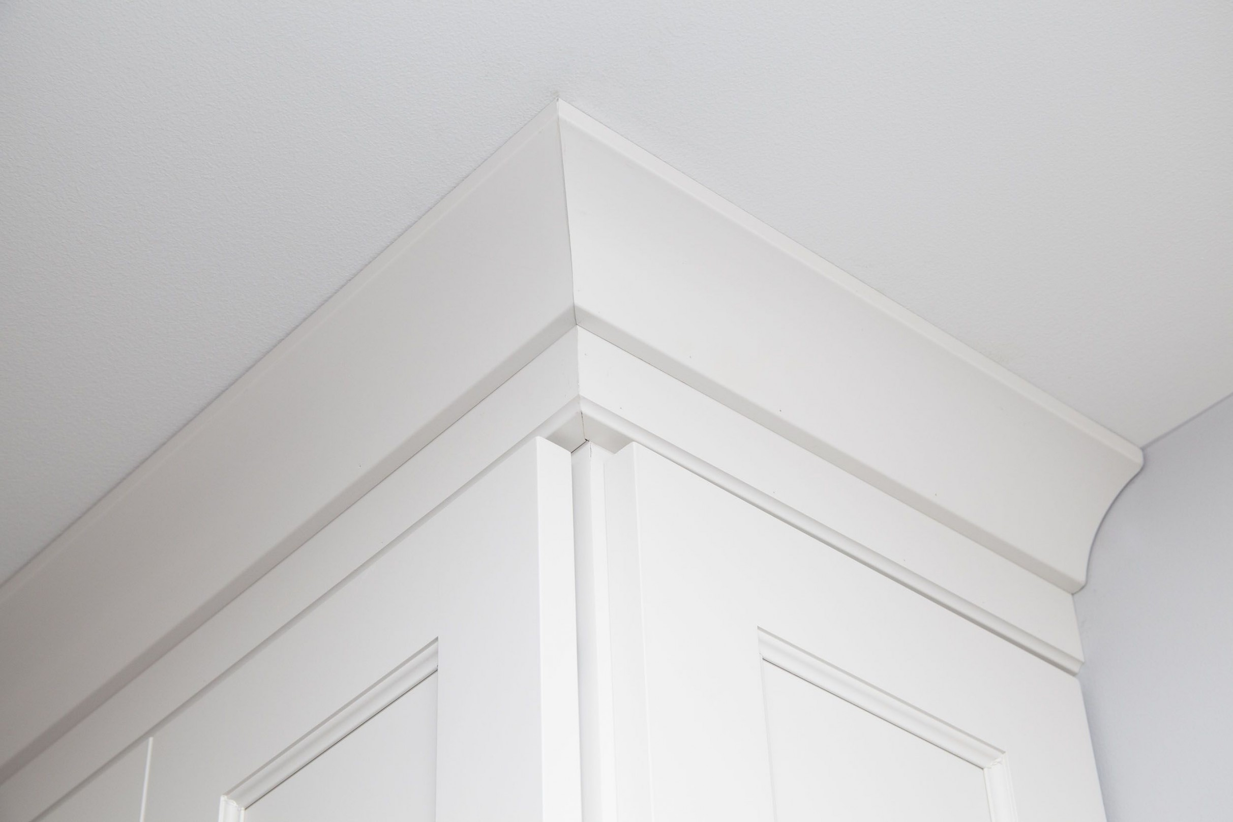 This is a crown molding detail