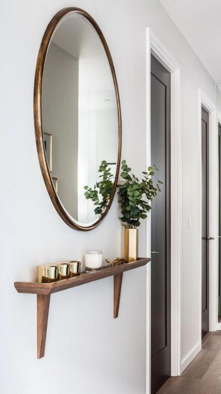 This would look good int he back hall - #eingang #good #hall #int  - Apartment Entrance Decor Ideas