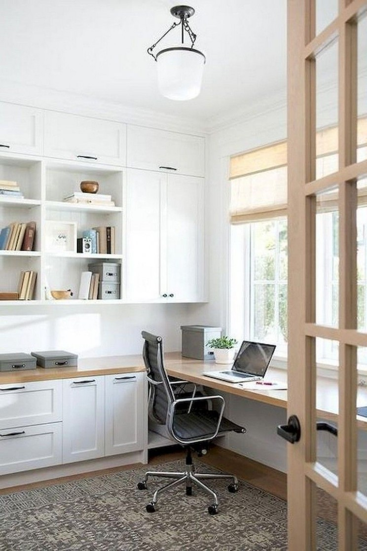 Tips and ideas for home office design layout makeovers to inspire  - Home Office Ideas Modern
