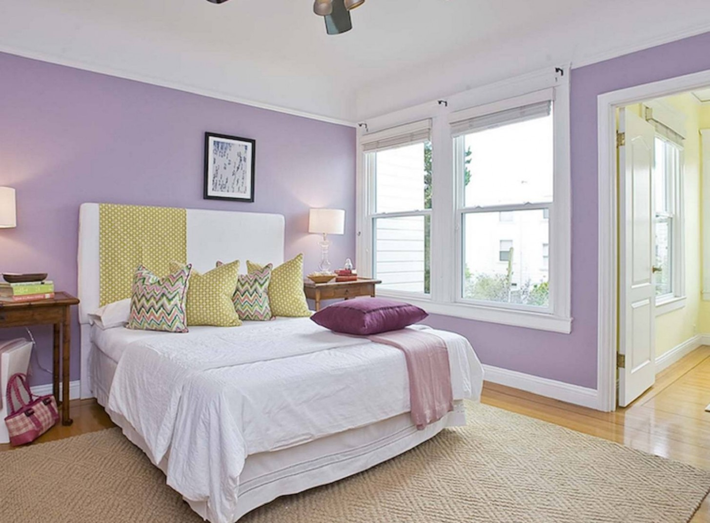 Tips and Photos for Decorating the Bedroom With Lavender - Bedroom Ideas Lavender