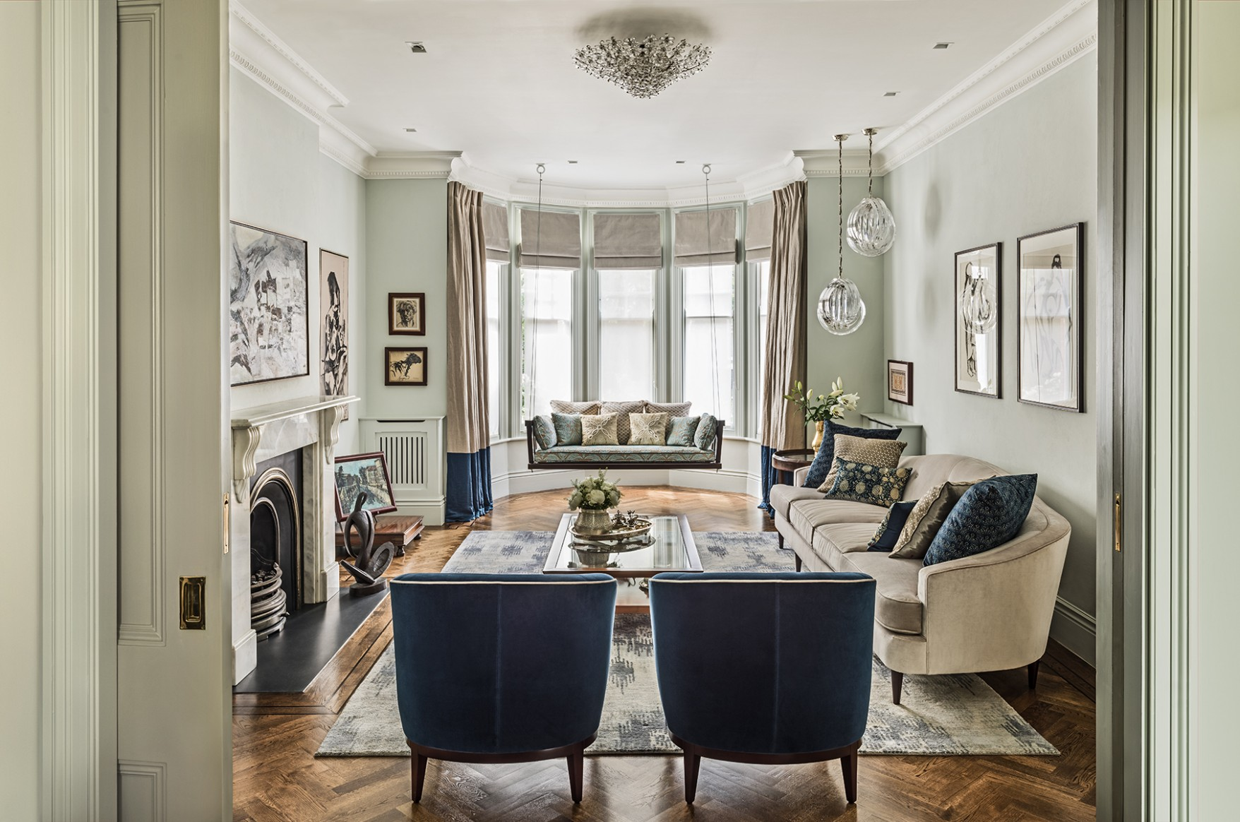 Top 9 interior design living room ideas from the best UK interior  - Dining Room Ideas In Uk