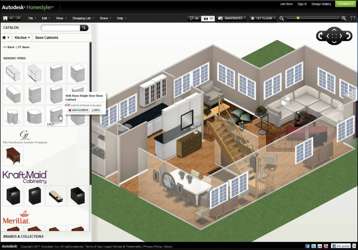 Top Free Online Software for Home Designing - - Apartment Design Tool Online