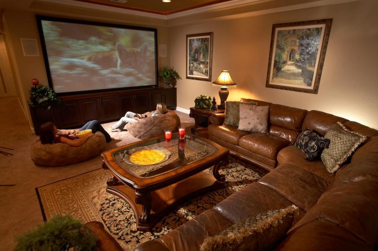 Top Six Basement Spaces  HGTV - Home Office Ideas Basement