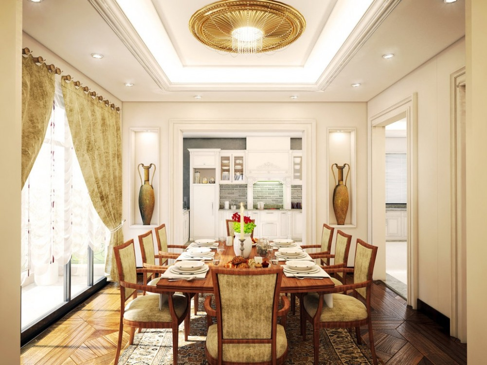 Traditional dining roomInterior Design Ideas