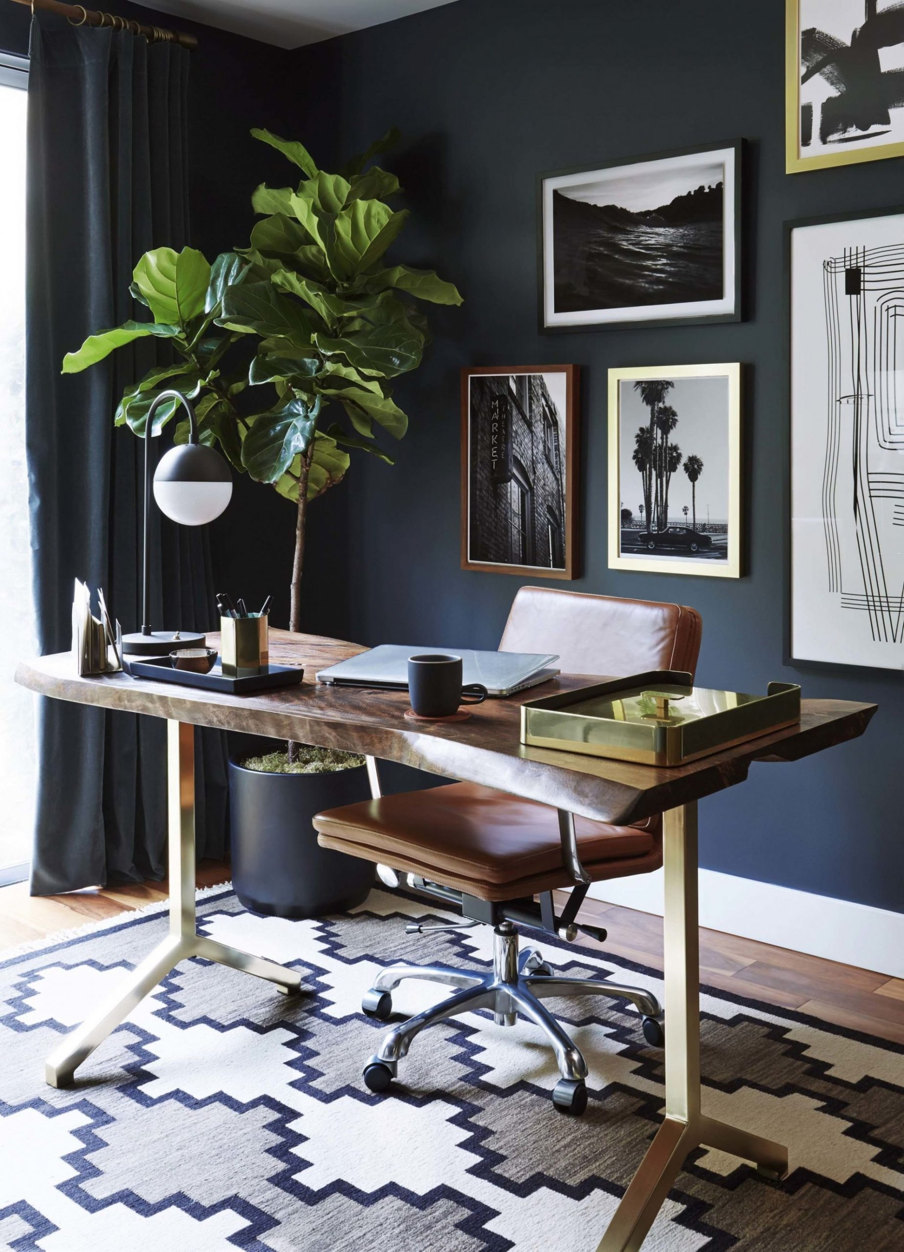 Transform your office into an inspiring environment with  - Home Office Ideas Mid-Century Modern