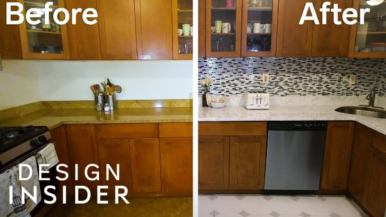 Transform Your Rental Kitchen With 9 Removable Products - Temporary Kitchen Cabinet Covers
