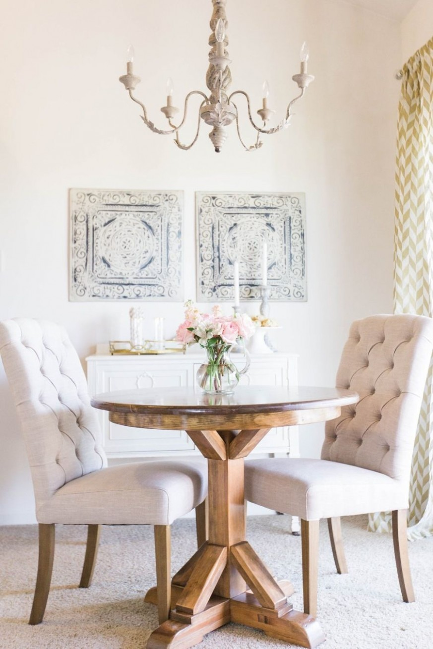 Turning a 11 Bedroom Apartment into a little Slice of Home  - Dining Room Ideas For Small Apartments