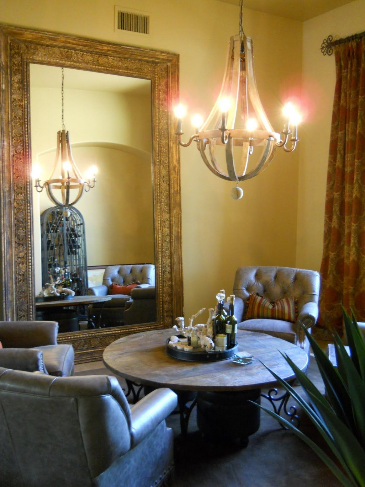 Turning formal dining room into a wine/sitting room  Formal  - Dining Room Lounge Ideas