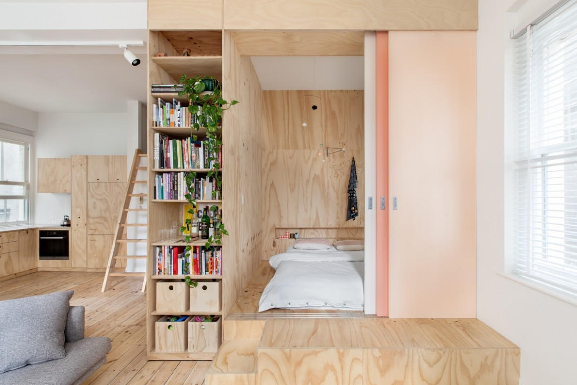 Two Apartments In Modern Minimalist Japanese Style (Includes Floor  - Apartment Design Japanese Style