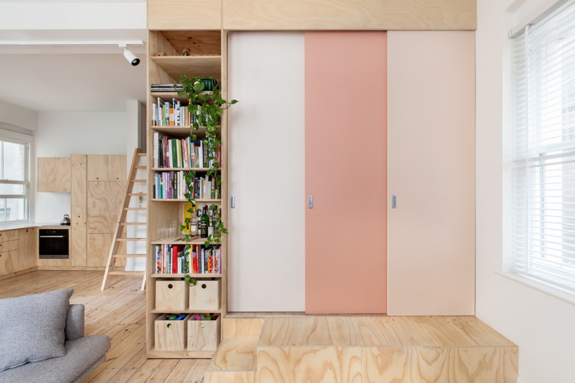 Two Apartments In Modern Minimalist Japanese Style (Includes Floor  - Small Apartment Japanese Design