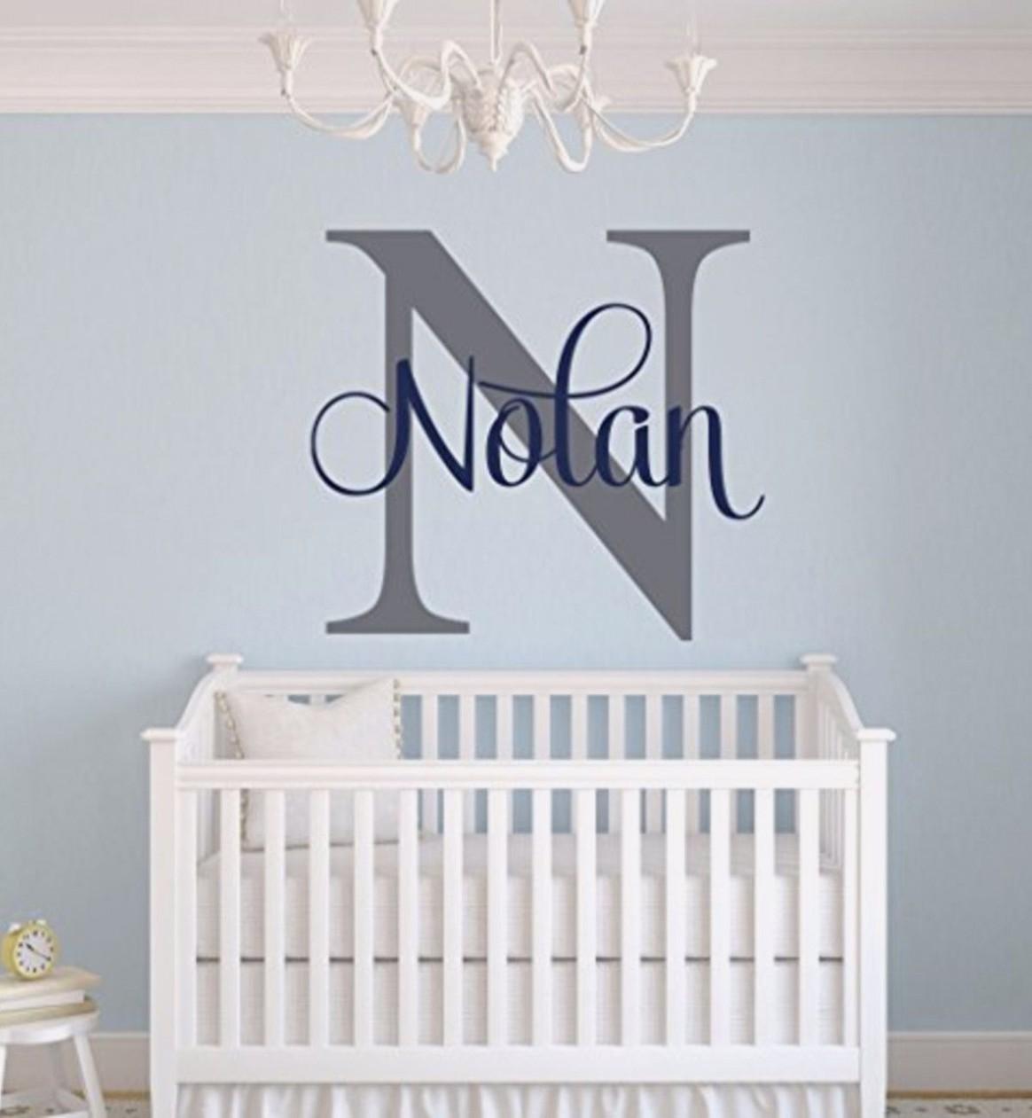 Unique Baby Boy Nursery Themes and Decor Ideas - Clever DIY Ideas  - Baby Room Wall Decor