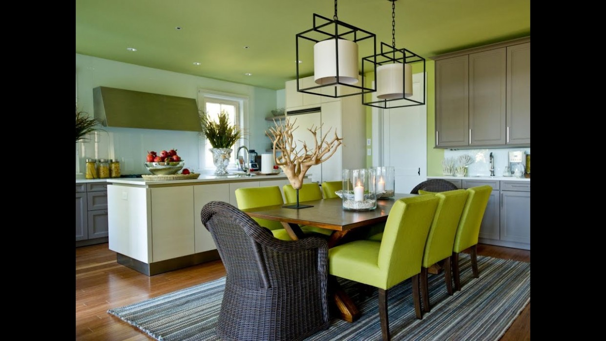 Very Impressive White Green Dining Room Ideas - Dining Room Ideas Green