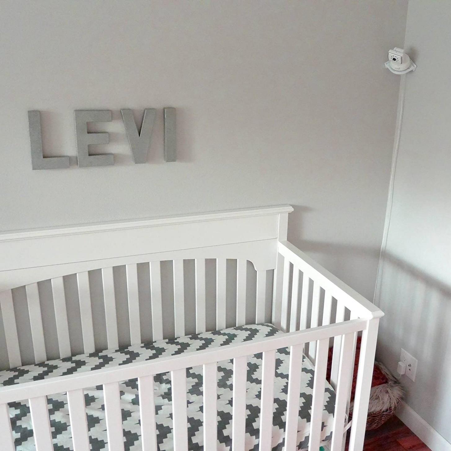 Vusee - The Universal Baby Monitor Shelf - White - Baby Room Monitor