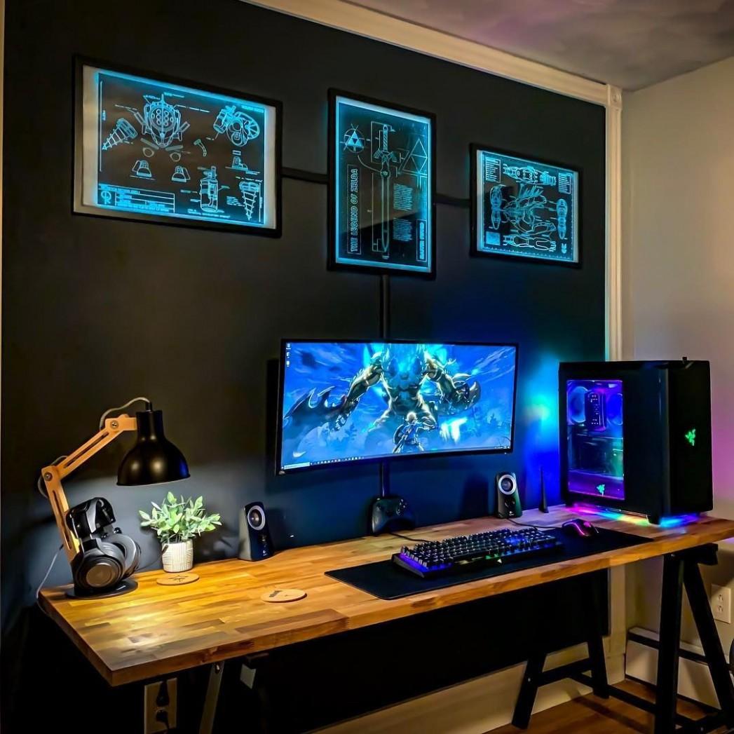 ⠀ What an epic setup