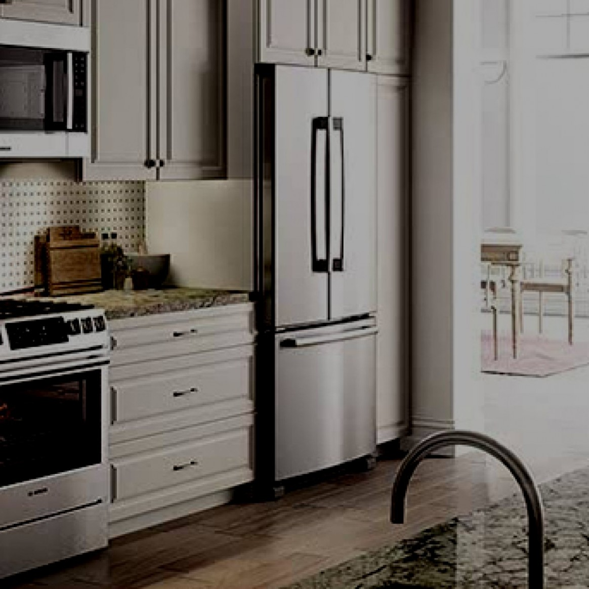What Is a Counter-Depth Refrigerator? - Kitchen Cabinet Dimensions Refrigerator