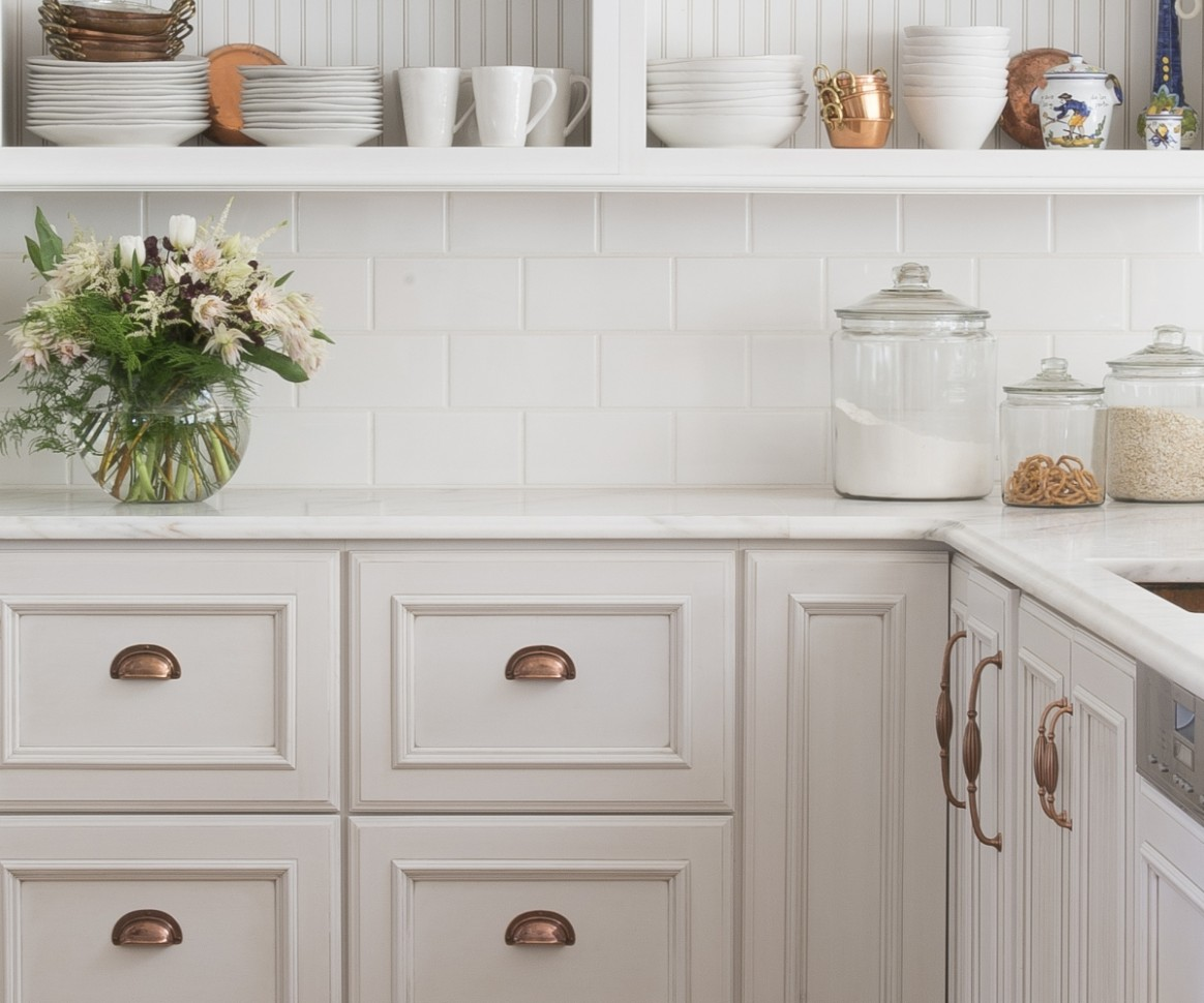What is the Difference Between an Accent and a Glaze Cabinet  - Kitchen Cabinet Accent Paint