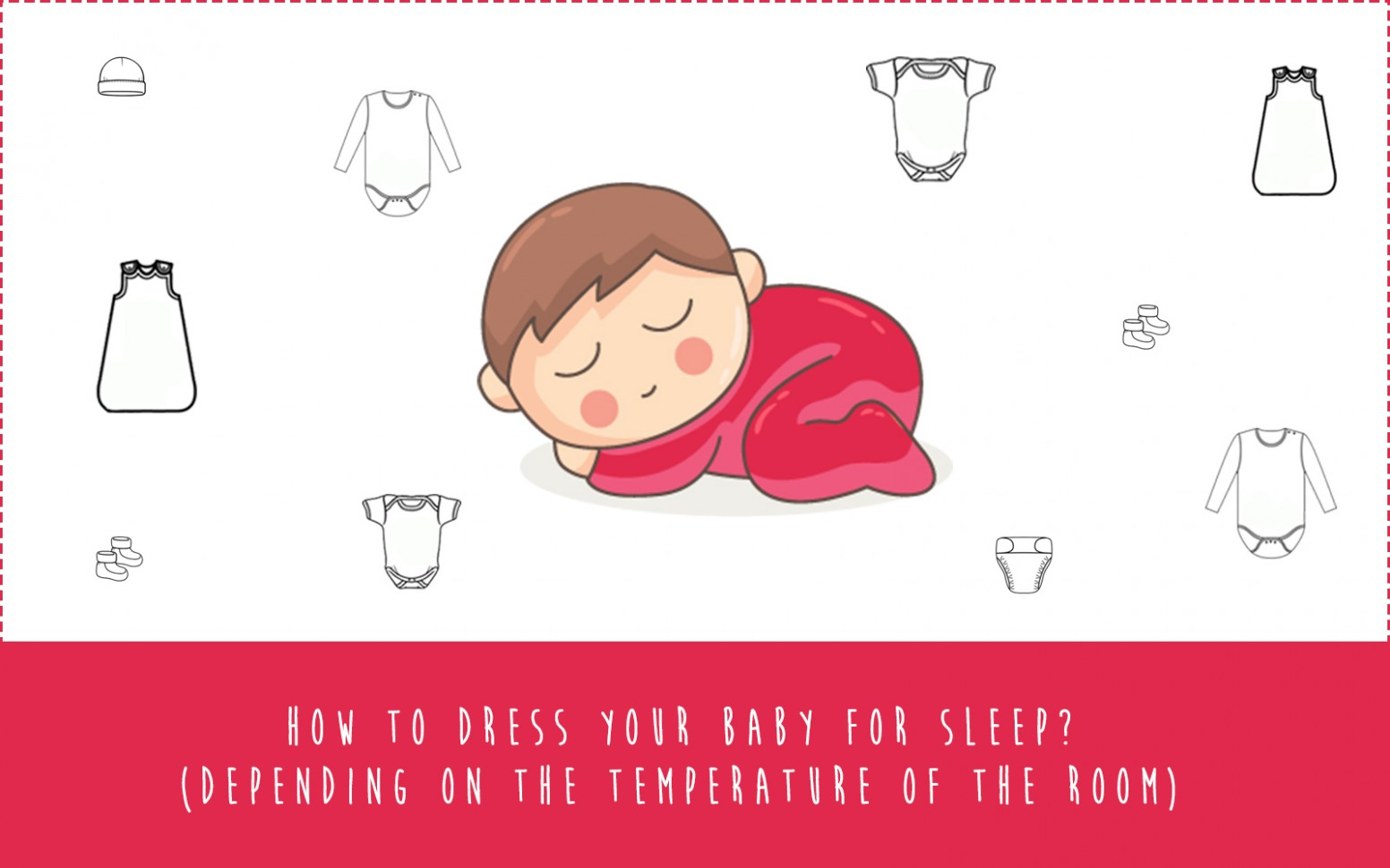 What to dress baby in for sleep at night? (Depending on the  - Baby Room Temp