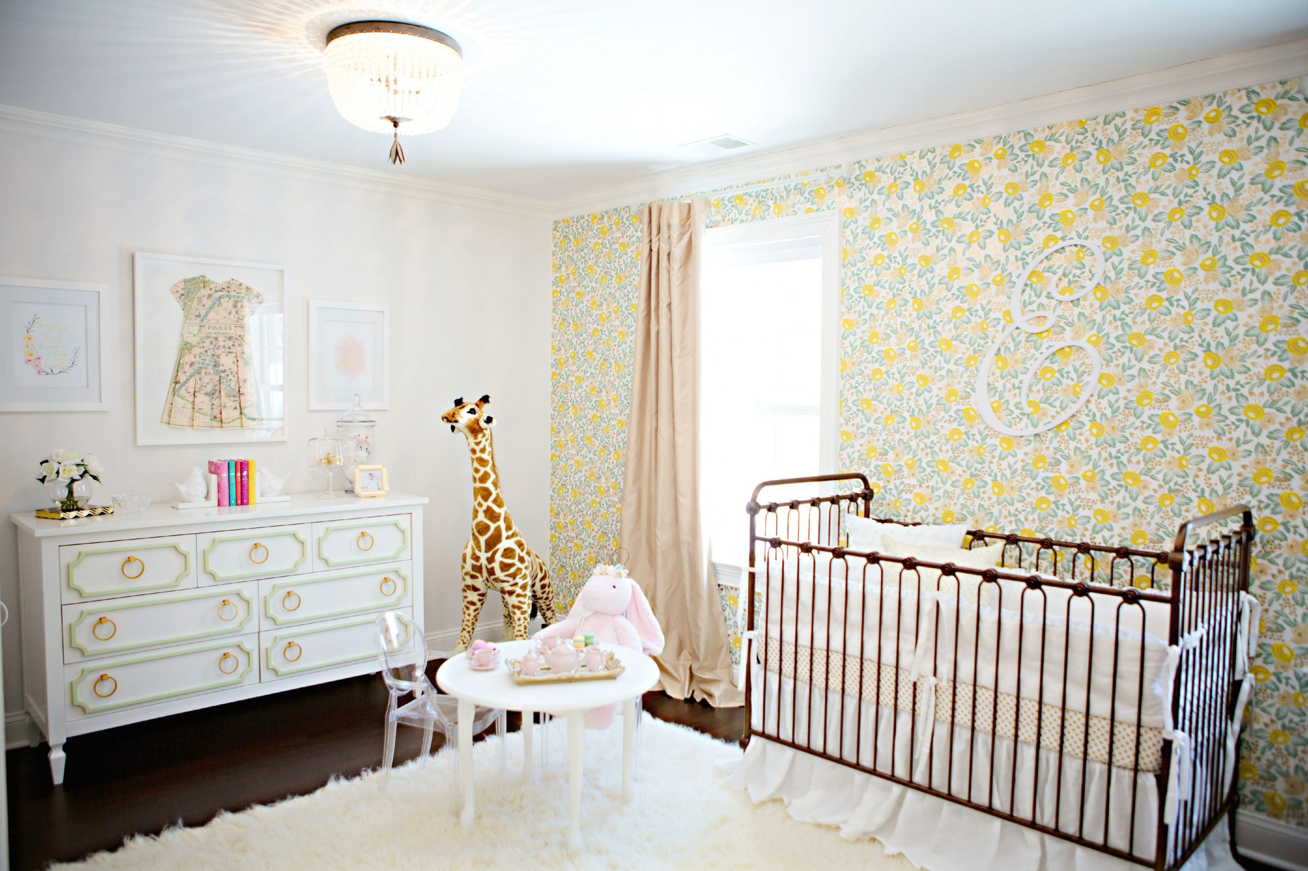 When You Post Your Dream Nursery Online - Project Nursery  Baby  - Baby Room Yellow
