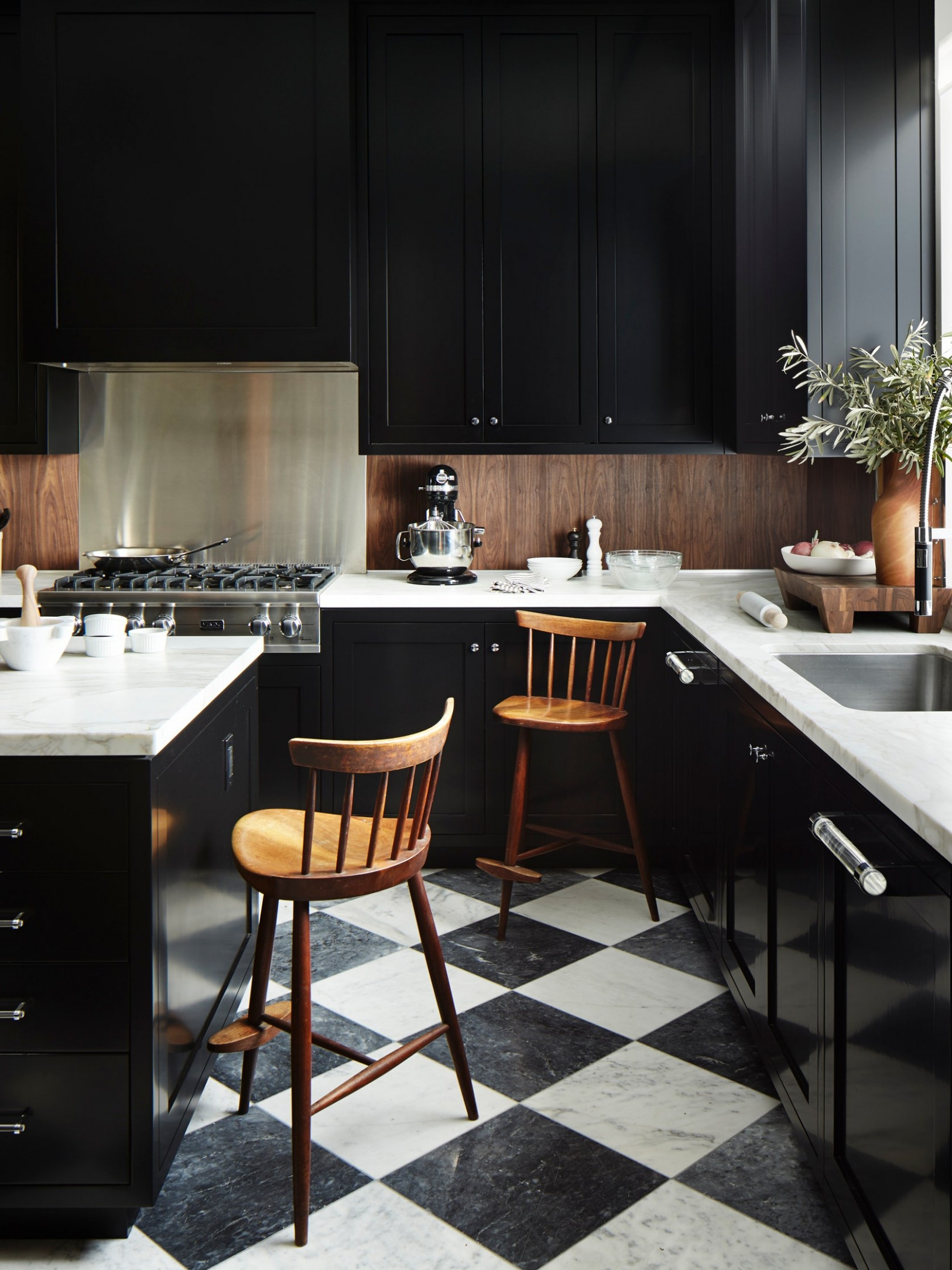 Why High-Gloss Paint Should Be on Your Radar  Architectural Digest - What Paint Sheen To Use On Kitchen Cabinets