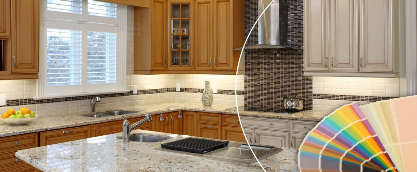 Wood Refinishing  NHance Niagara ꟾ Kitchen Cabinet Refinishing  - Kitchen Cabinet Refacing Niagara Falls