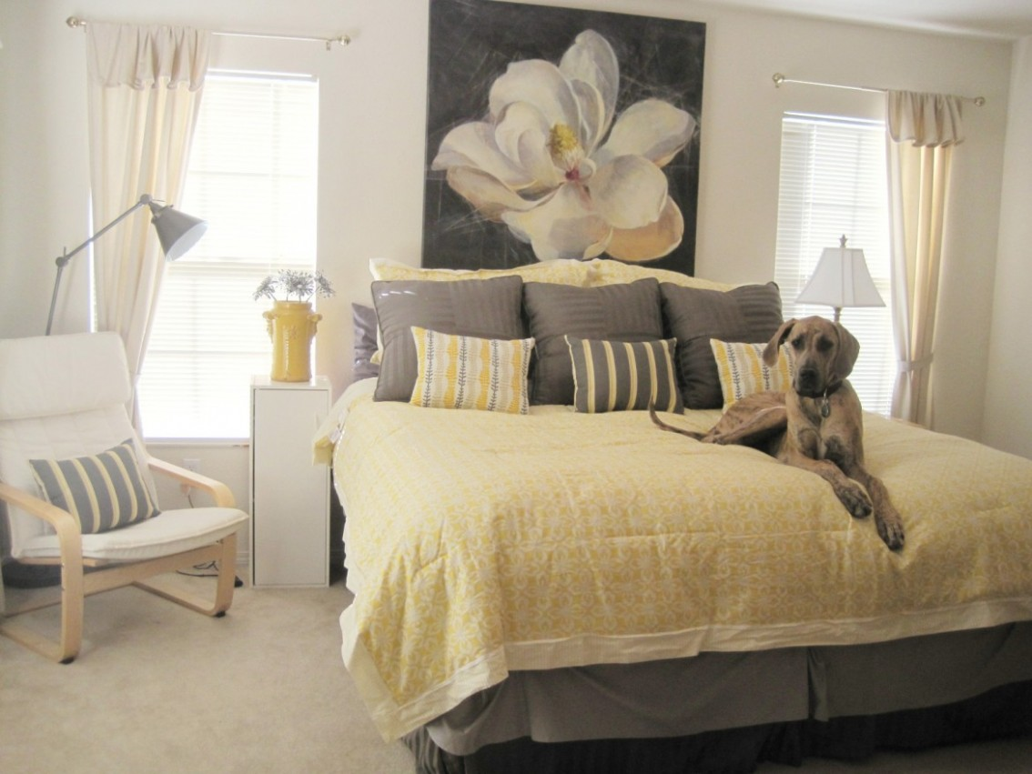 Yellow and Gray Bedding That Will Make Your Bedroom Pop - Bedroom Ideas Grey And Yellow