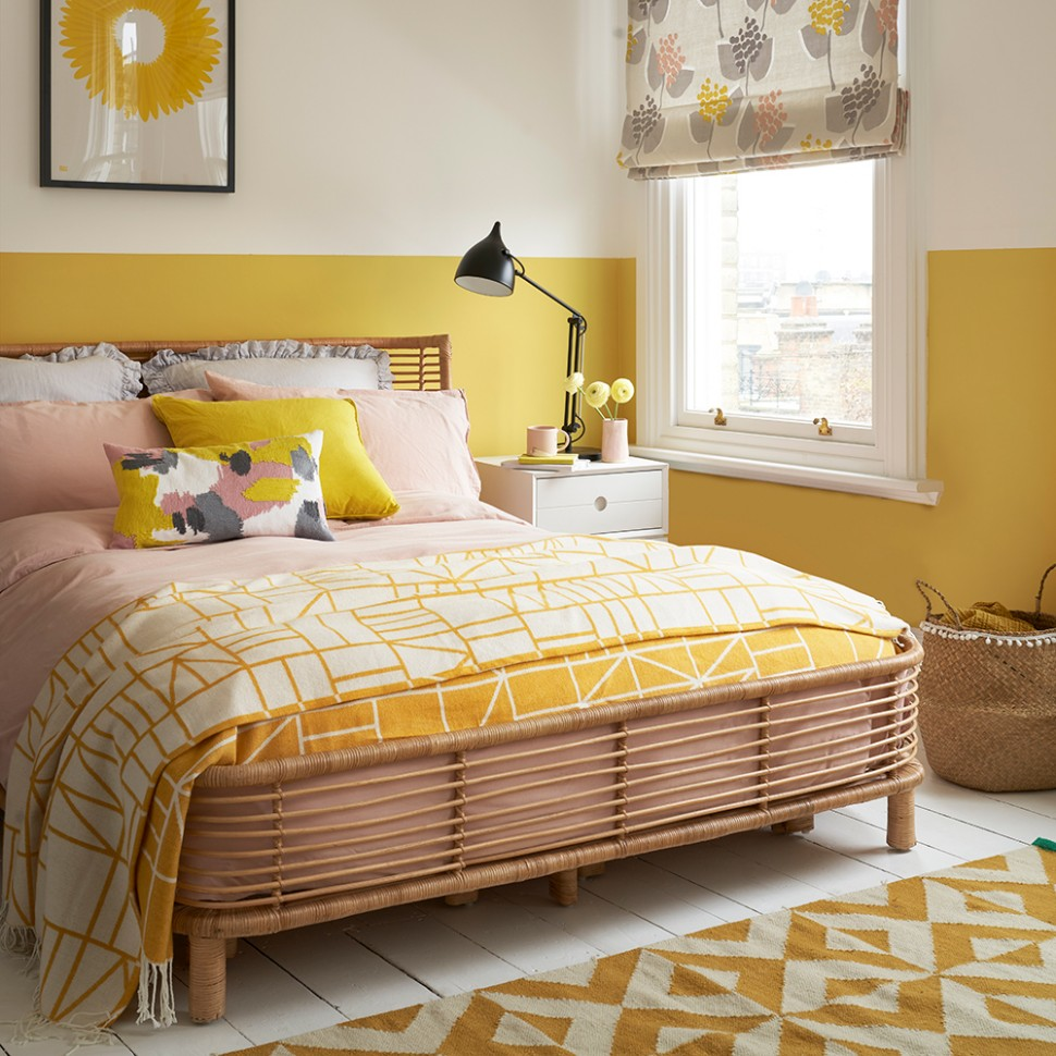 Yellow bedroom ideas for sunny mornings and sweet dreams - Bedroom Colour Ideas
