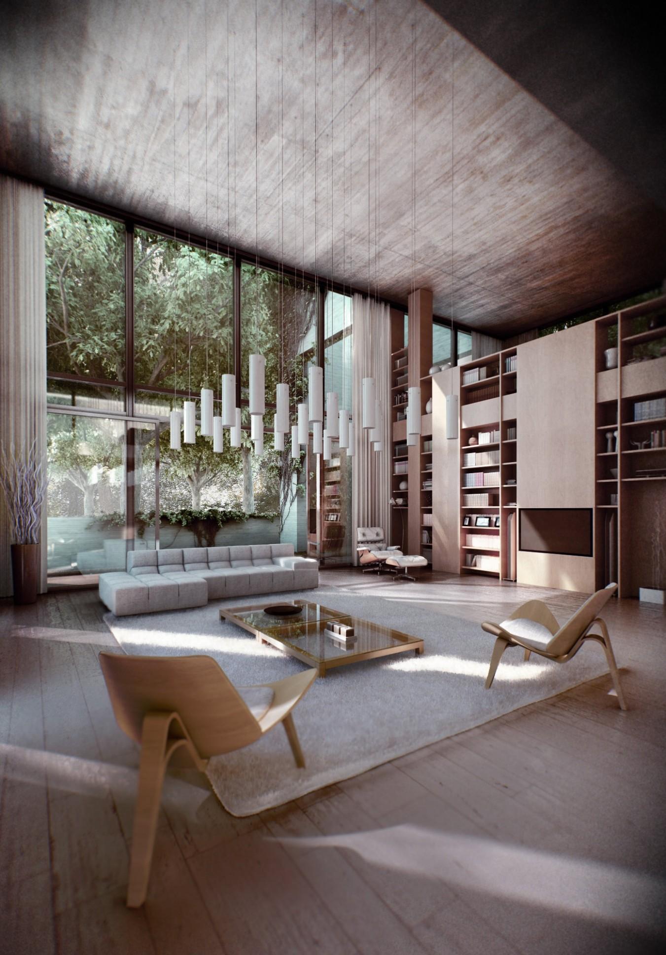 Zen Inspired Interior Design - Japanese Home Office Ideas