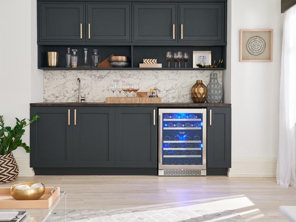 Zephyr Presrv™ Dual Zone Wine Cooler - Wine Fridge Kitchen Cabinet